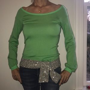Tops - Sequin long sleeve